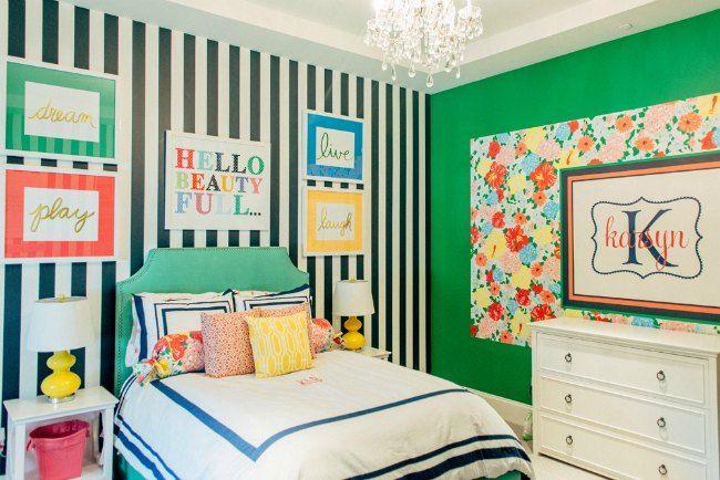 Habitacion juvenil chica ideas para el hogar pinterest - Pintar habitacion juvenil nina ...