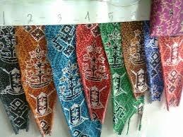 Benang Bintik , the linen of Central Borneo