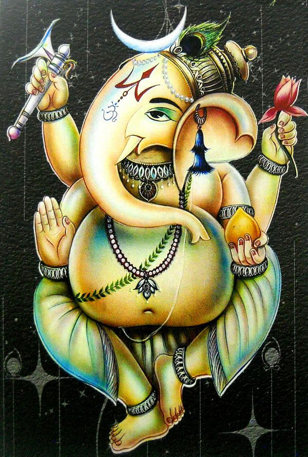 17 Best Images About Ganesh On Pinterest Shri Ganesh