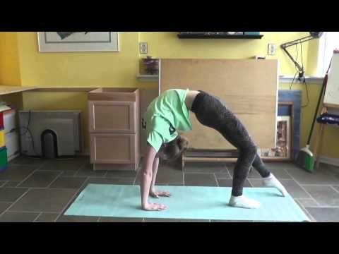 How To Do A Back-bend Kickover   Gymnastics Tutorial For