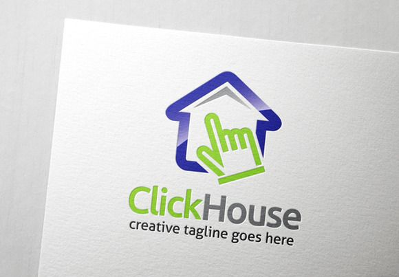 Check out Click House Logo by Slim Studio on Creative Market