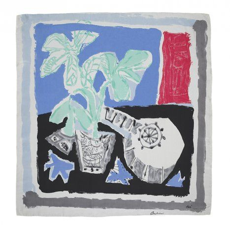 Antoni Clavé Still Life with Mandolin 1947 Ascher Artist Squares