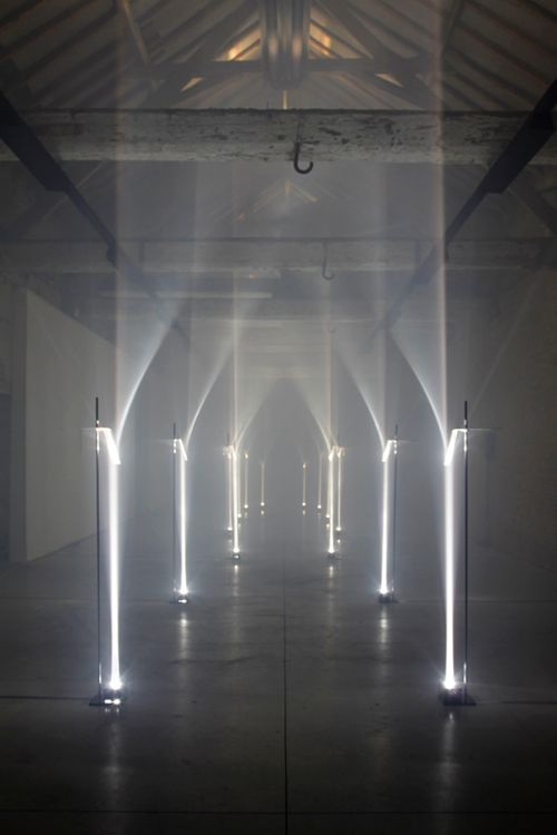 Arcades by Troika - Site specific installation for Future Primitives, Biennale Interieur 2012, Kortrijk Belgium