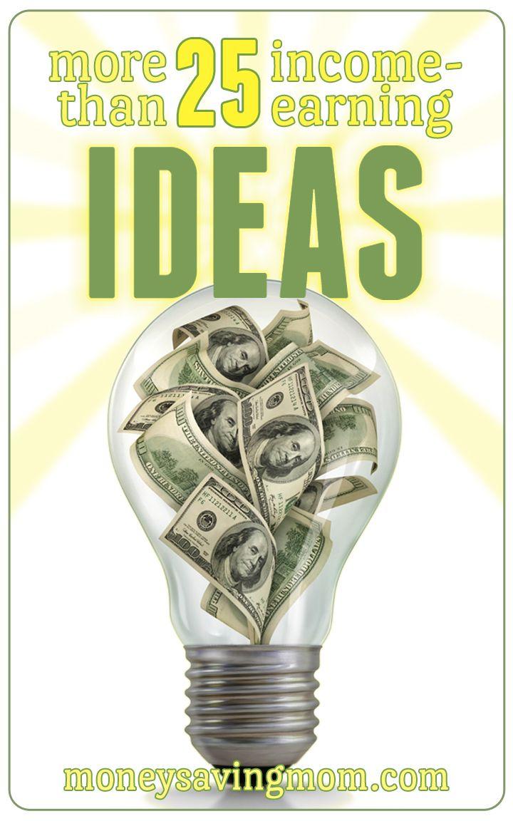 Income Earning Ideas Earn Money From Homeways