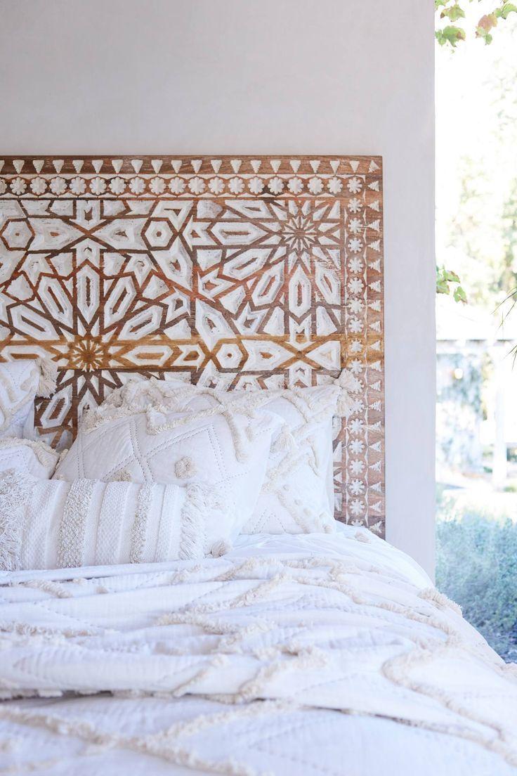 Handcarved Albaron Bed // Shop 100% Bamboo Eco-friendly Bedding & Apparel xx www.yohome.com.au