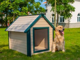 This Dog House Air Conditioner is just what you need to keep your pet comfortable in warm, humid climates.
