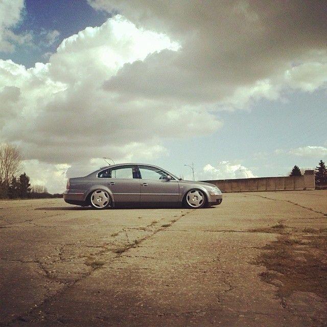 Passat 3bg on Mercedes Avantgarde 18', i loved this setup...