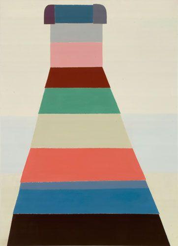 Sabine Finkenauer. dress, 2008 oil on canvas