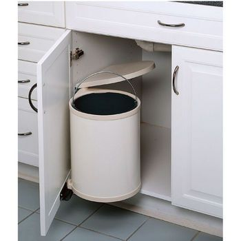 The Round Pivot Out Waste Container Is Ideal For Keeping