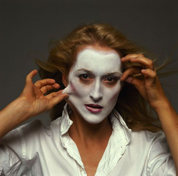 "Meryl Streep by Annie Leibovitz. Meryl Streep (born Mary Louise Streep; June 22, 1949)[2] is an American actress of theater, television, and film. She is widely regarded as one of the best living American film actresses. ""I'm a pain in the ass to all of the costume designers with whom I work because I have very strong feelings about the subject."""