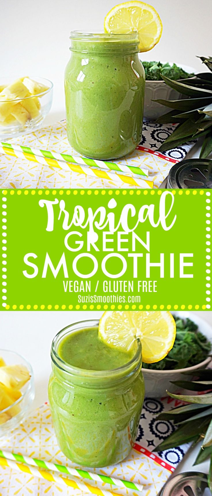 This smoothie recipe is so yummy and it's super healthy. It's great for aiding natural weight loss and makes you feel so energised, I love it!
