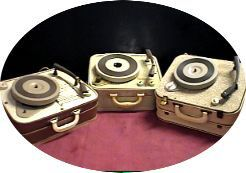 Suitcase Record Players