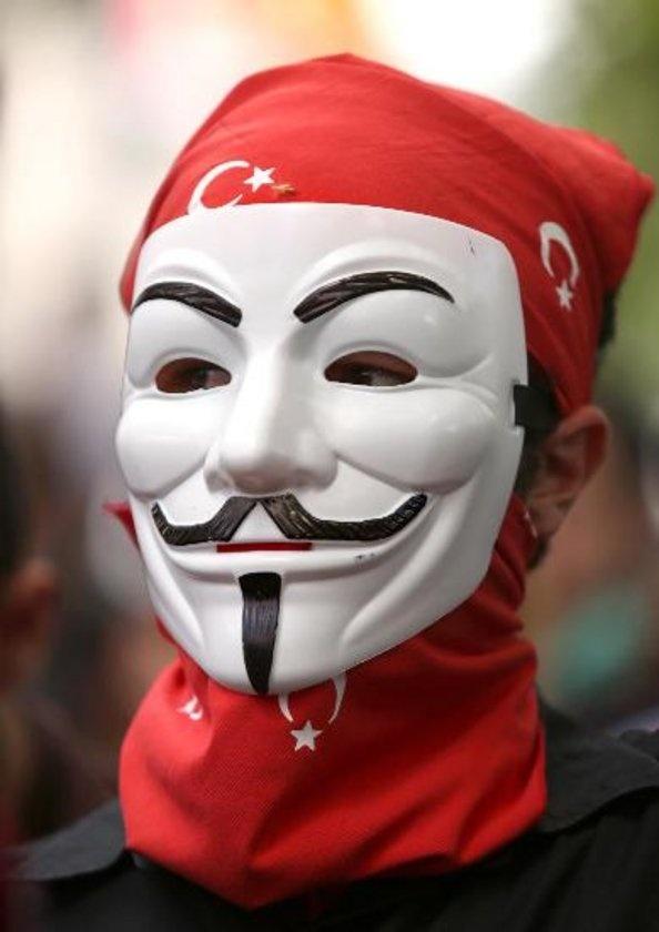V for Taksim Gezi Park