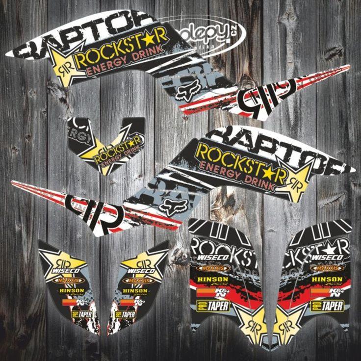 YAMAHA RAPTOR 660 GRAPHICS KIT graphics raptor yamaha