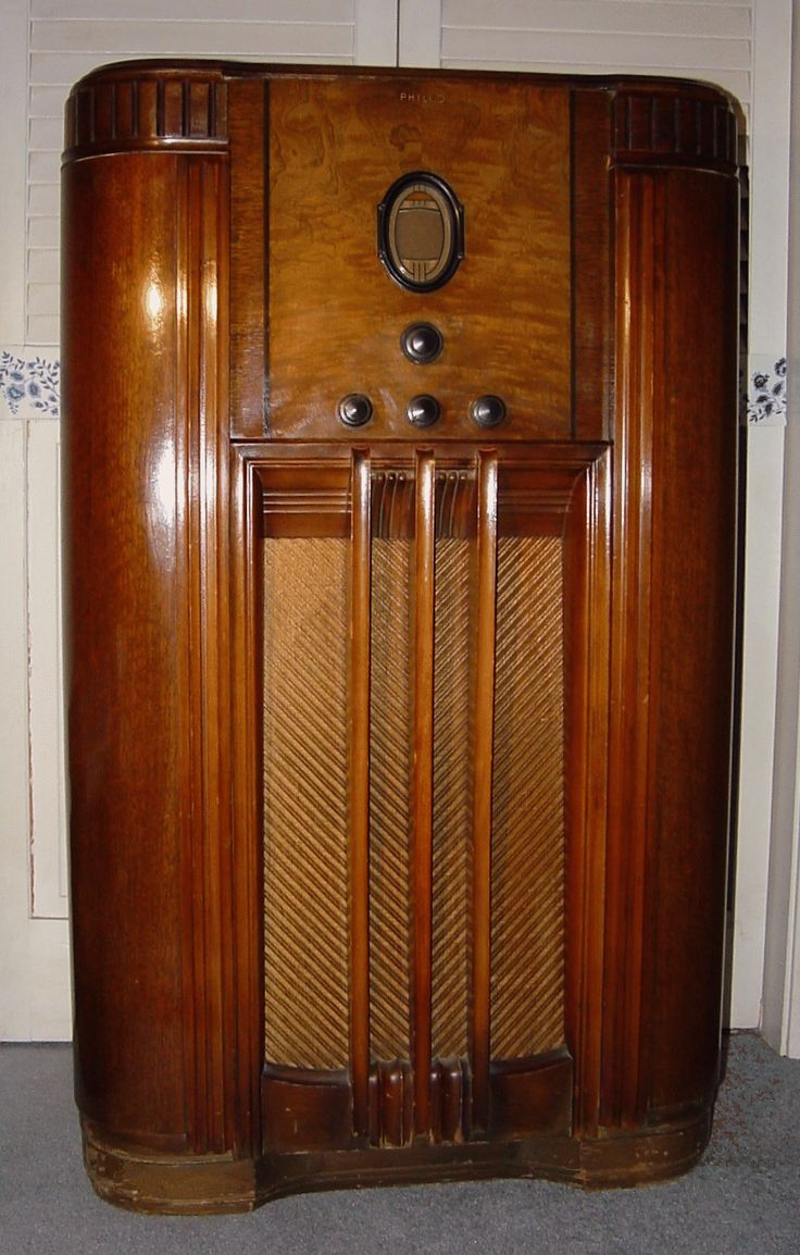 81 Best Console Radios Vintage Images On Pinterest