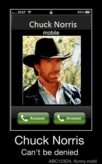 You never grow tired of a good, old-fashioned Chuck Norris joke.