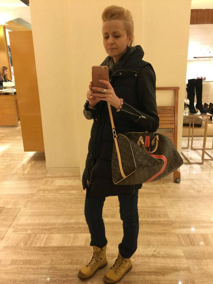 Louis Vuitton Speedy 40 Bandouliere bag