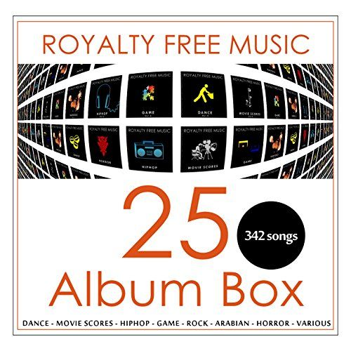 Royalty Free Music 25 Album Box (342 songs) Royalty Free Music / DistributionLabel.com http://www.amazon.com/dp/B00SBQYVOQ/ref=cm_sw_r_pi_dp_OcDrvb0QSK95Y