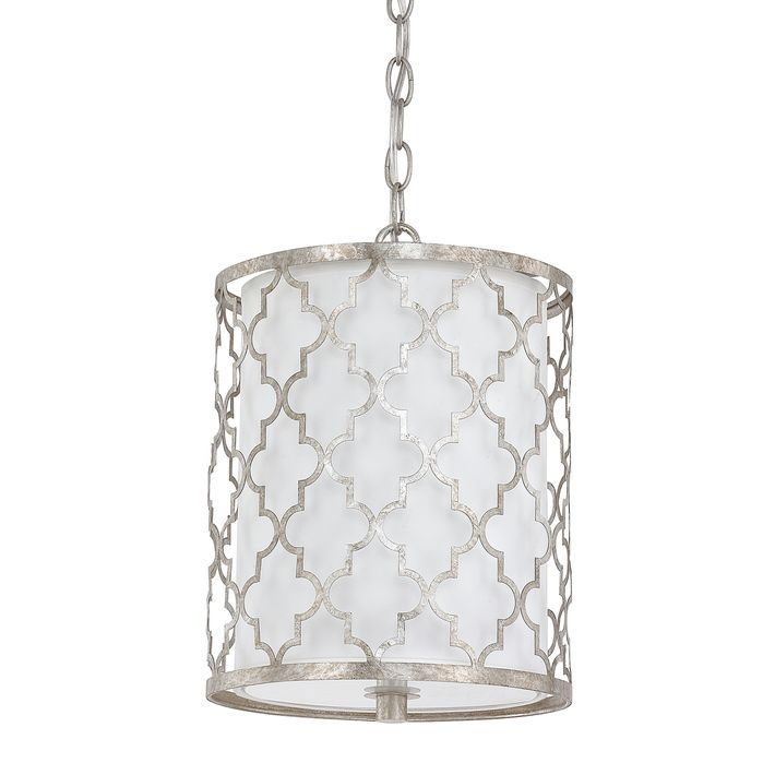 capital lighting ellis two light mini pendant antique silver finish with white fabric shade