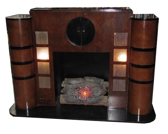 108 best images about art deco fireplace on pinterest for Best electric furniture