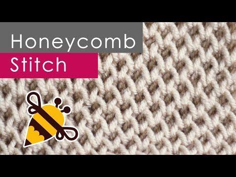 How to Knit the HONEYCOMB Brioche Stitch Pattern | Studio Knit