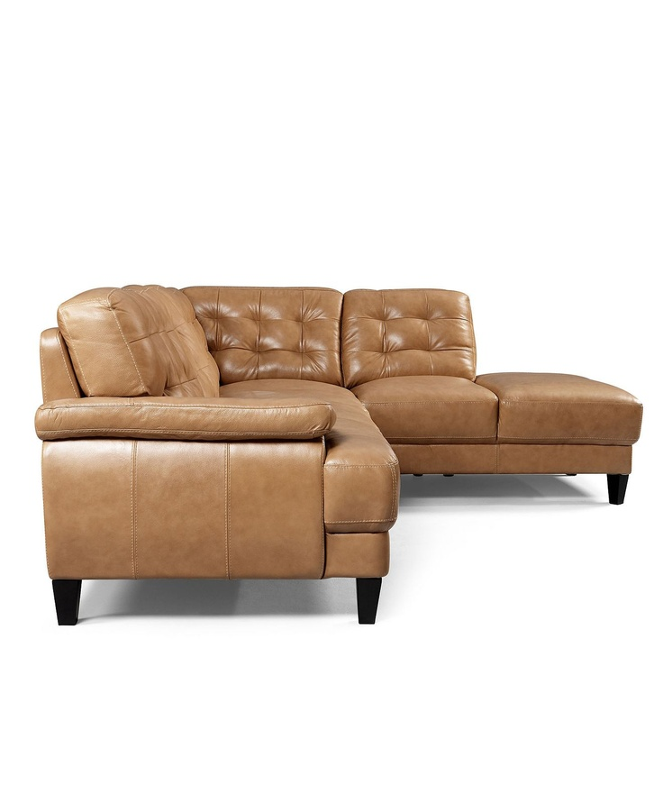 Low Profile Leather Sofa