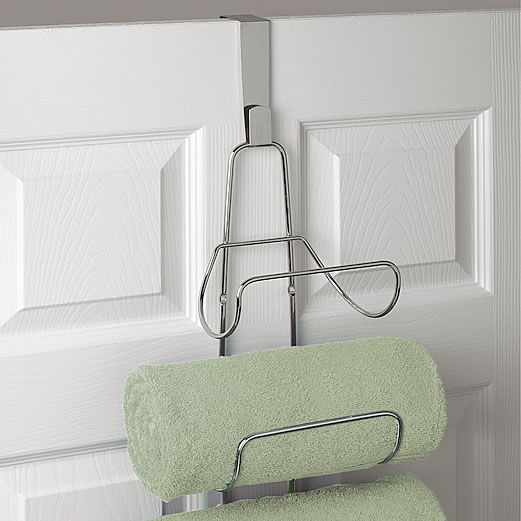 Wall+Mounted+/+Over+Door+Towel+Rack