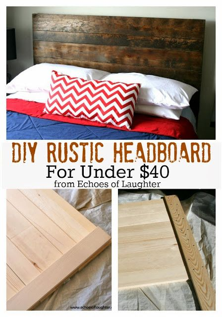 diy boys headboard ideas | DIY Headboard For Under $40