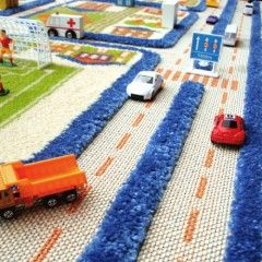 IVI 3D rug, great for group play with hours of fun and imagination