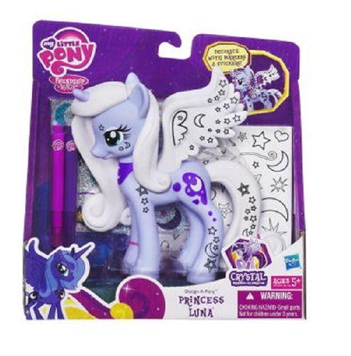 my little pony | My Little Pony, Kucyki do dekoracji, Księżniczka Luna - Hasbro ...