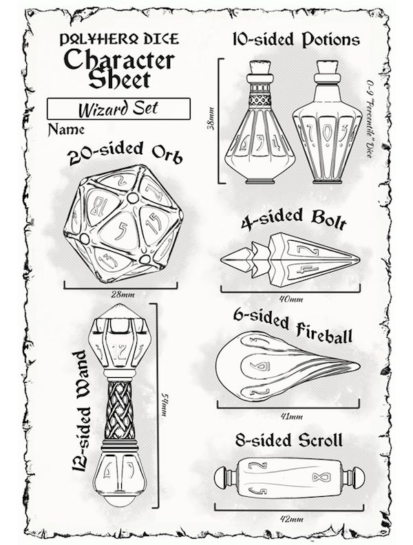 The Dice Of Choice For Spellcasters