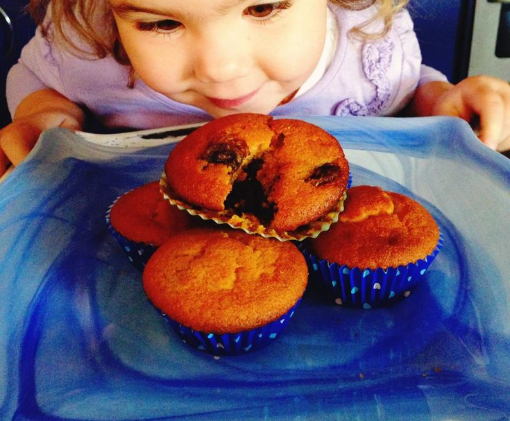 Recipe Pumpkin and Chocolate Muffins by Ms RhiB - Recipe of category Baking - sweet