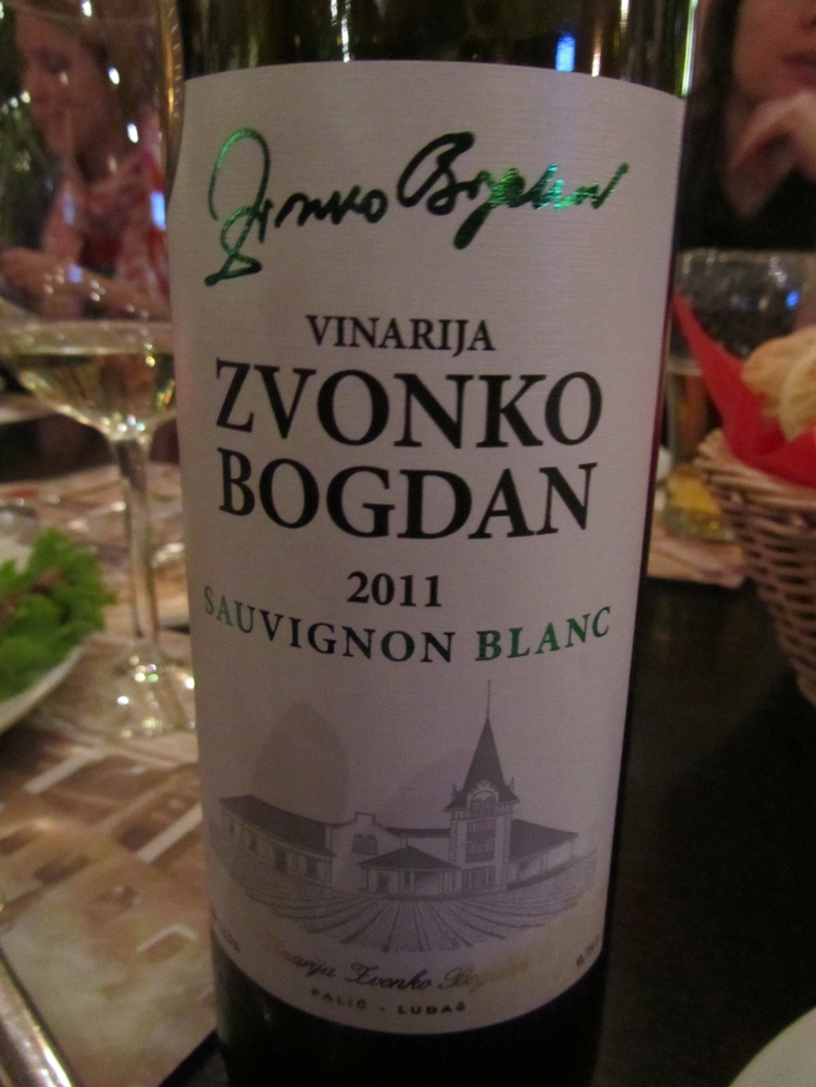 Found a really good Serbian white wine. I am more for reds, but this was really good. Greetings to Serbia, bring me some more :)