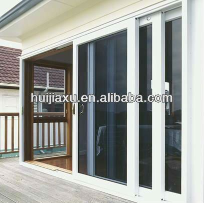 3 Panel 3 Track Patio Doors Exterior Doors With Glass