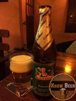Birra prodotta dal birrificio Lowenbrau, uno dei birrifici più antichi della Germania