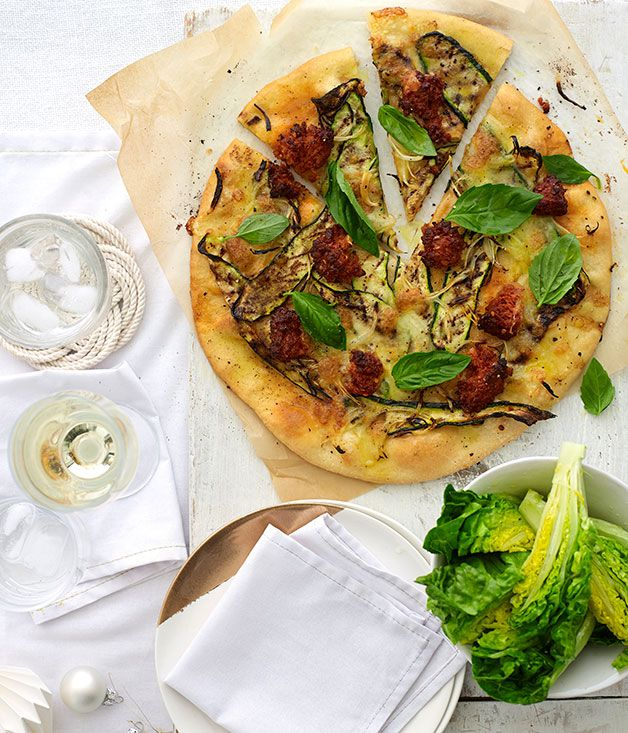 Australian Gourmet Traveller recipe for contadina pizze from Il Locale in Brisbane.