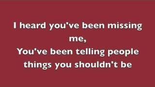 Rumor Has It - Adele (Lyrics), via YouTube.