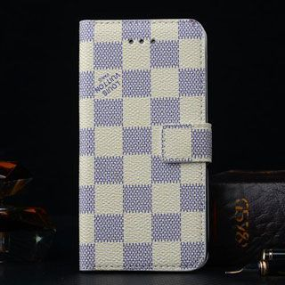 ouis Vuitton iPhone 6 Plus Wallet Case Beige