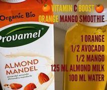 Orange Mango Smoothie (vegan)