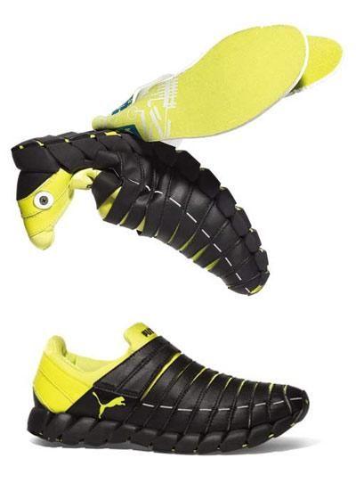 Reconstruction of human nature puma shoes design (Photos)-PUMA, sports shoes, Uribe-shoe industries