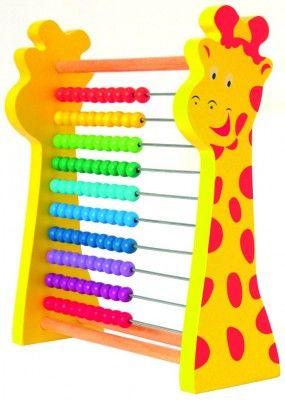 Woody Rainbow počítadlo Žirafa
