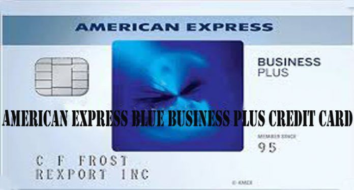 American Express Blue Business Plus Credit Card With Images