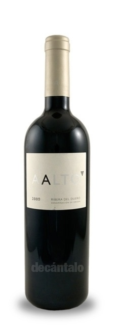 Aalto 2010, Spanish Red Wine Ribera del Duero at decantalo.com