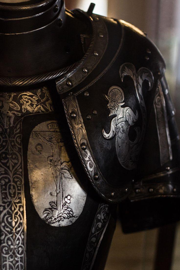 "occidental-martyr: "" Thirty years war armour, photo taken by me in the Heeresgeschichtliches Museum, Wien. """