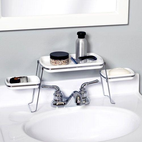 82 best images about pedestal sink storage solutions on pinterest clever bathroom storage. Black Bedroom Furniture Sets. Home Design Ideas