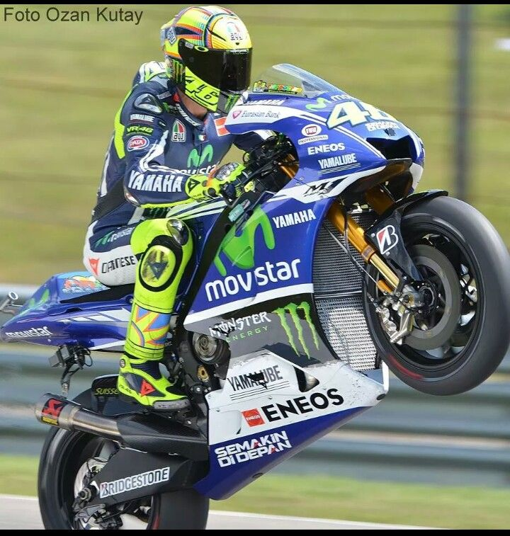 valentino rossi wheelie at assen 2014 road race moto gp and superbike racing motorcycles. Black Bedroom Furniture Sets. Home Design Ideas