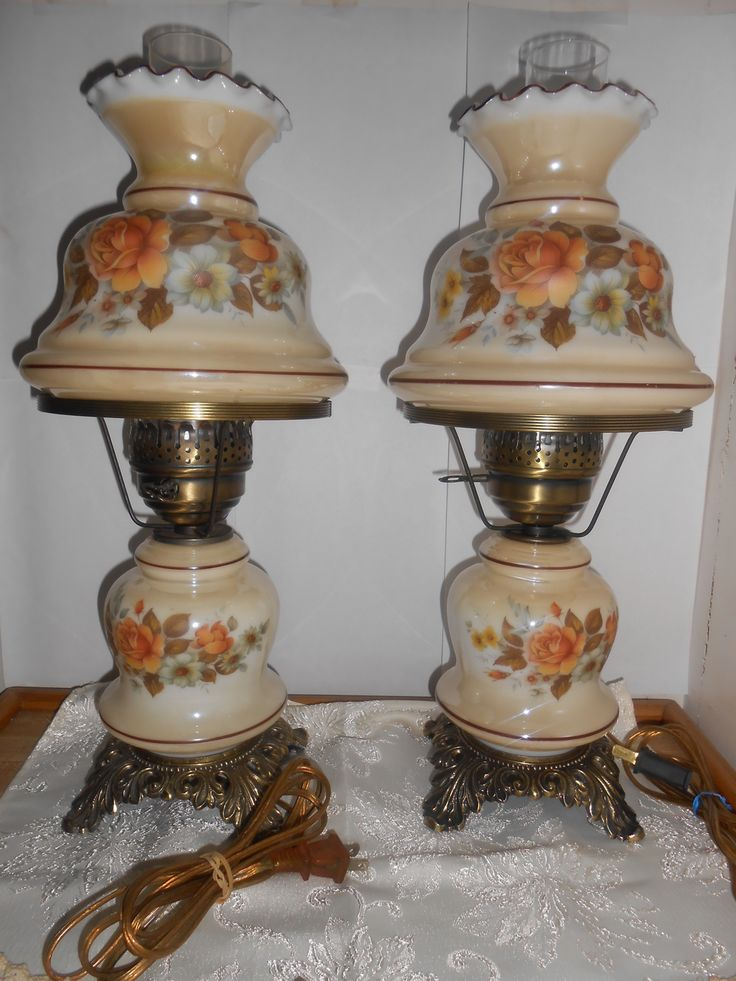 Attractive Vintage Hurricane Lamps