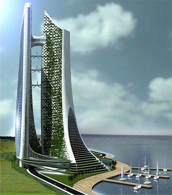 Architecture and Sustainable Urbanism: ECO-CYBERNETIC CITY [Futuristic Architecture: http://futuristicnews.com/category/future-architecture/]