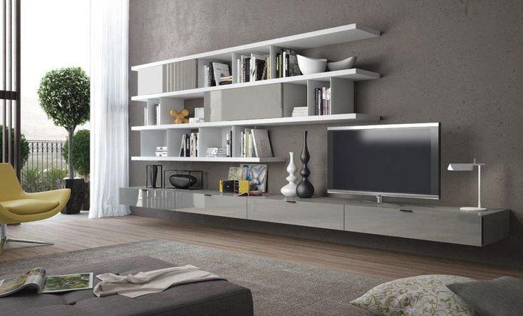 Mueble TV moderno / de madera CASA BLANCA  Zanette