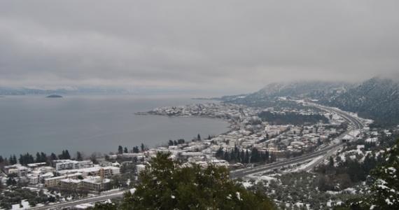 Kamena Vourla - sort winter in Kamena Vourla, Greece.
